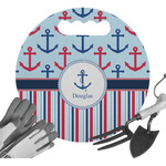 Anchors & Stripes Gardening Knee Cushion (Personalized)