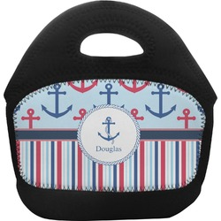 Anchors & Stripes Toddler Lunch Tote (Personalized)