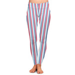 Anchors & Stripes Ladies Leggings (Personalized)