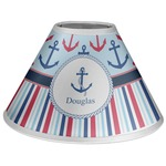 Anchors & Stripes Coolie Lamp Shade (Personalized)