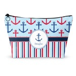 Anchors & Stripes Makeup Bags (Personalized)