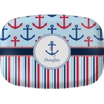 Anchors & Stripes Melamine Platter (Personalized)