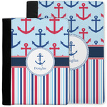 Anchors & Stripes Notebook Padfolio w/ Name or Text