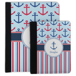 Anchors & Stripes Padfolio Clipboard (Personalized)
