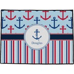Anchors & Stripes Door Mat (Personalized)