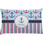 Anchors & Stripes Pillow Case (Personalized)