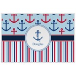 Anchors & Stripes Placemat (Laminated) (Personalized)