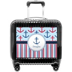 Anchors & Stripes Pilot / Flight Suitcase (Personalized)