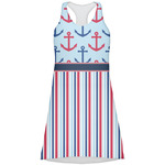 Anchors & Stripes Racerback Dress (Personalized)