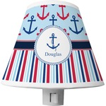 Anchors & Stripes Shade Night Light (Personalized)