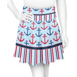 Anchors & Stripes Skater Skirt (Personalized)