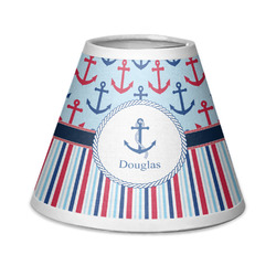 Anchors & Stripes Chandelier Lamp Shade (Personalized)