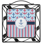 Anchors & Stripes Trivet (Personalized)