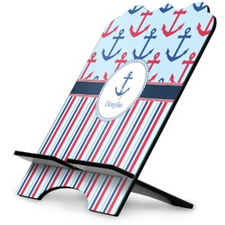 Anchors & Stripes Stylized Tablet Stand (Personalized)