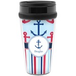 Anchors & Stripes Travel Mugs (Personalized)