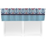 Anchors & Stripes Valance (Personalized)