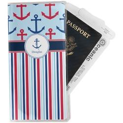 Anchors & Stripes Travel Document Holder