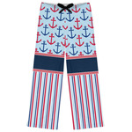 Anchors & Stripes Womens Pajama Pants (Personalized)
