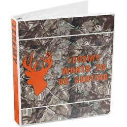 Hunting Camo 3-Ring Binder (Personalized)