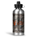 Hunting Camo Water Bottle - Aluminum - 20 oz (Personalized)