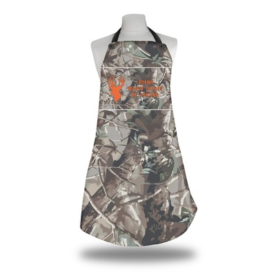Hunting Camo Apron w/ Name or Text