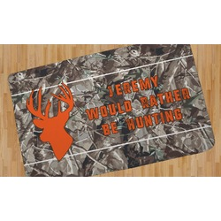 Hunting Camo Area Rug (Personalized)