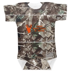 Hunting Camo Baby Bodysuit (Personalized)