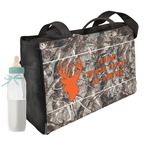Hunting Camo Diaper Bag w/ Name or Text