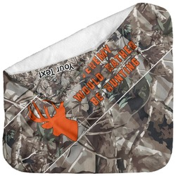 Hunting Camo Baby Hooded Towel (Personalized)