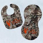 Hunting Camo Baby Bib & Burp Set w/ Name or Text