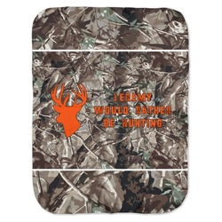 Hunting Camo Baby Swaddling Blanket (Personalized)