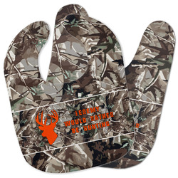 Hunting Camo Baby Bib w/ Name or Text