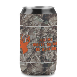Hunting Camo Can Sleeve (12 oz) (Personalized)