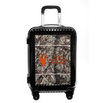 Hunting Camo Carry On Hard Shell Suitcase (Personalized)