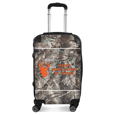 Hunting Camo Suitcase (Personalized)