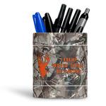Hunting Camo Ceramic Pen Holder
