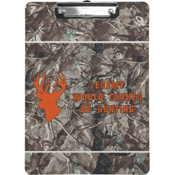 Hunting Camo Clipboard (Personalized)