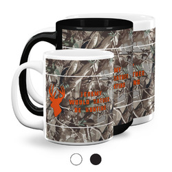 Hunting Camo Coffee Mugs (Personalized)