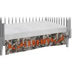 Hunting Camo Crib Skirt (Personalized)