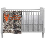 Hunting Camo Crib Comforter / Quilt (Personalized)