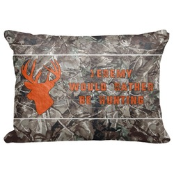 "Hunting Camo Decorative Baby Pillowcase - 16""x12"" (Personalized)"