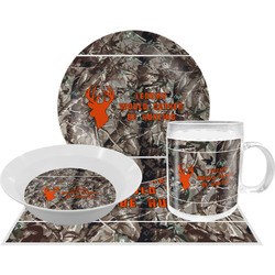 Hunting Camo Dinner Set - 4 Pc (Personalized)