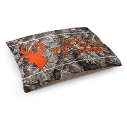 Hunting Camo Dog Bed - Medium w/ Name or Text