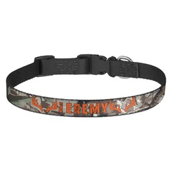 Hunting Camo Dog Collar (Personalized)