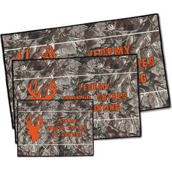 Hunting Camo Door Mat (Personalized)