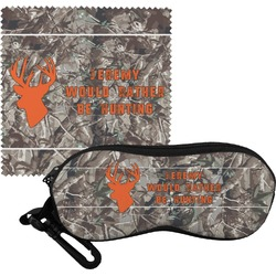 Hunting Camo Eyeglass Case & Cloth (Personalized)