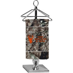 Hunting Camo Finger Tip Towel - Full Print (Personalized)
