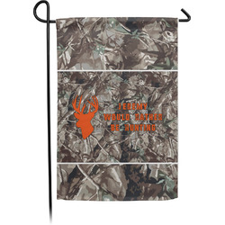 Hunting Camo Garden Flag - Single or Double Sided (Personalized)