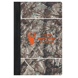 Hunting Camo Genuine Leather Passport Cover (Personalized)