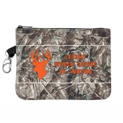 Hunting Camo Golf Accessories Bag (Personalized)